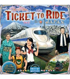 Produkt Ticket to Ride - Japan + Italy