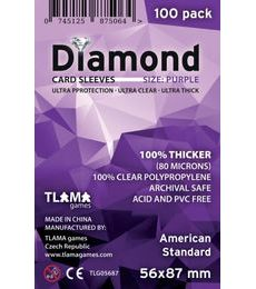Produkt Obaly na karty (56x87mm) American Standard - Diamond, 100 ks
