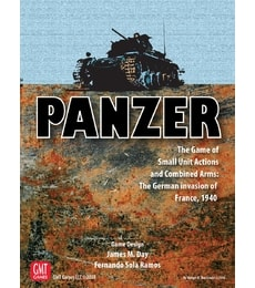 Produkt Panzer - The Game of Small Unit Actions and Combined Arms: The German invasion of France, 1940