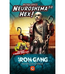 Produkt Neuroshima Hex! 3.0: Iron Gang Hexpuzzles pack