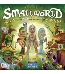 Produkt Small World: Power Pack 2 (Royal Bonus, Grand Dames & Cursed!)