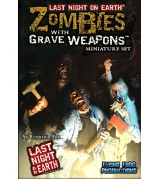 Produkt Last Night on Earth: Zombies with Grave Weapons set
