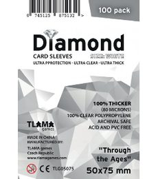 Produkt Obaly na karty (50x75 mm) pro Through the Ages - Diamond, 100 ks