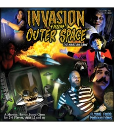 Produkt Invasion from Outer Space - The Martian Game