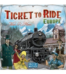 Produkt Ticket to Ride Europe