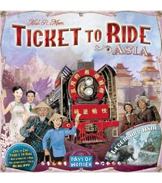 Produkt Ticket to Ride - mapy Asie