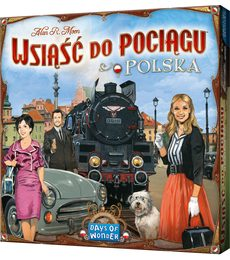 Produkt Ticket to Ride: Polsko (EN pravidla)