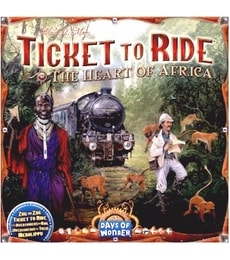 Produkt Ticket To Ride: The Heart of Africa