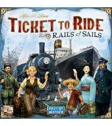 Produkt Ticket to Ride: Rails & Sails