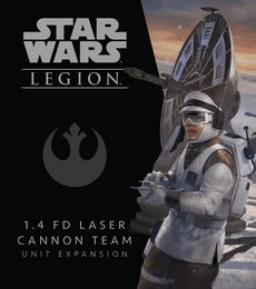 Produkt Star Wars: Legion - 1.4 FD Laser Cannon Team