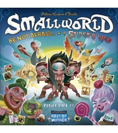 Produkt Small World: Power Pack 1 (Be Not Afraid & Spider's Web)