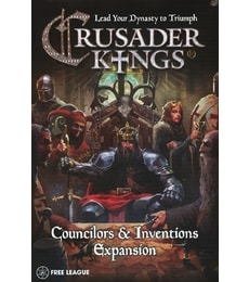 Produkt Crusader Kings: Councilors & Inventions Miniatures