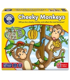 Produkt Drzé opice (Cheeky Monkeys)