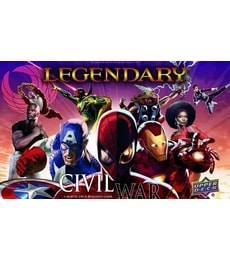 Produkt Legendary: Civil War
