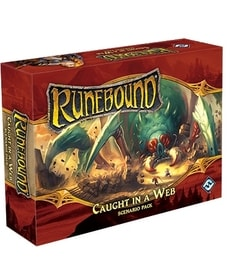 Produkt Runebound: Caught in a Web Scenario Pack