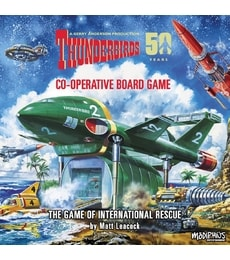 Produkt Thunderbirds: Co-Operative Board Game