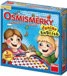 Produkt Osmisměrky junior- English