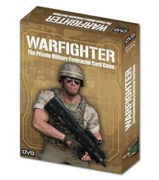 Produkt Warfighter: The Private Military Contractor Card Game