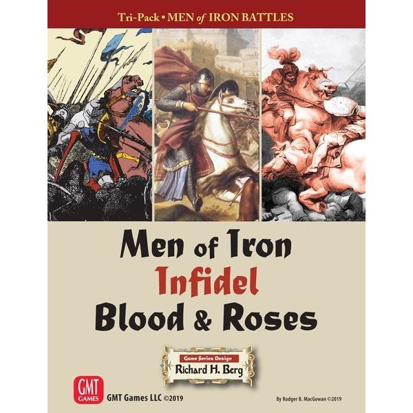 Tri-Pack - Men of Iron Battles: Men of Iron, Infidel, Blood & Roses