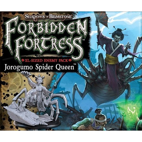 Shadows of Brimstone: Forbidden Fortress - Jorogumo Spider Queen