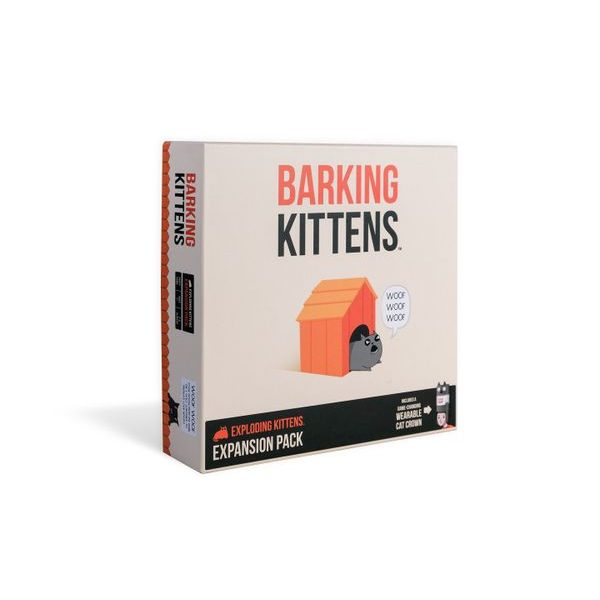 Exploding Kittens: Barking Kittens - Expansion Pack