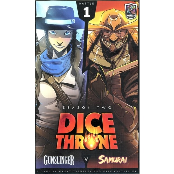 Dice Throne: Gunslinger vs Samurai