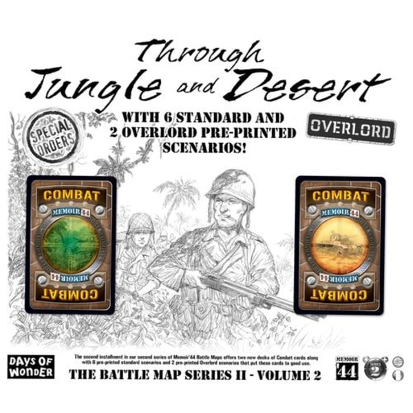 Memoir 44: Through Jungle and Desert