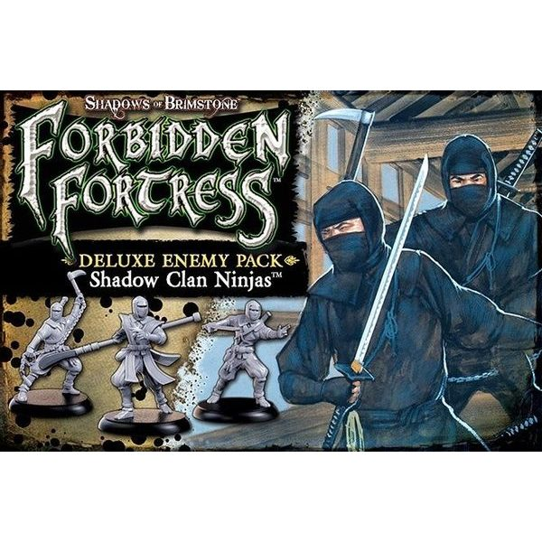 Shadows of Brimstone: Shadow Clan Ninja - Deluxe Enemy Pack