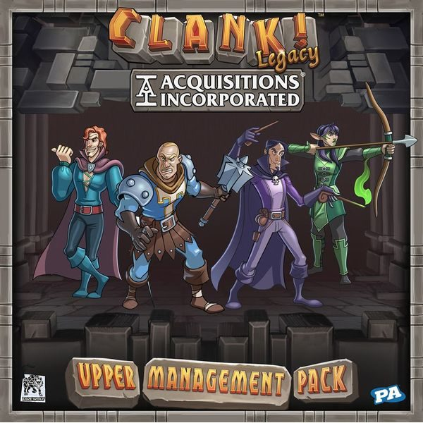 Clank! Legacy - Acquisitions Incorporated: Upper Management Pack