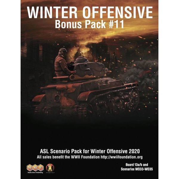 ASL Scenario Pack for Winter Offensive 2020 (Bonus Pack 11)