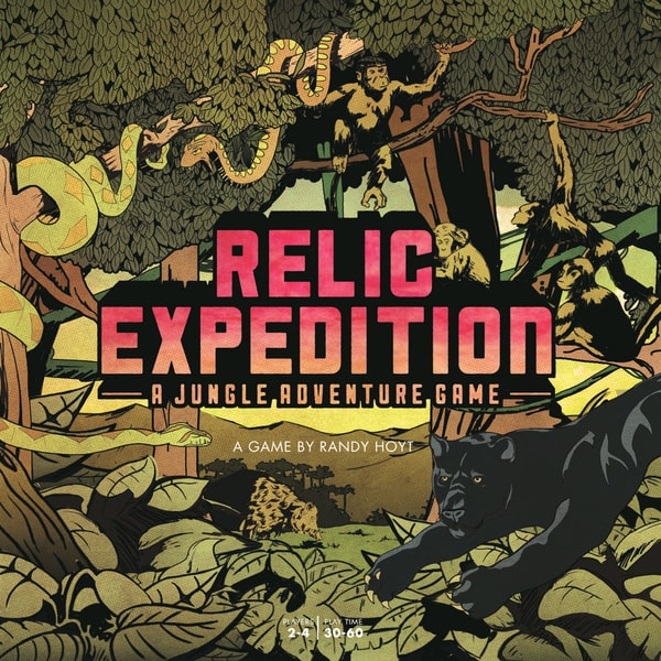 Relic Expedition: A Jungle Adventure Game
