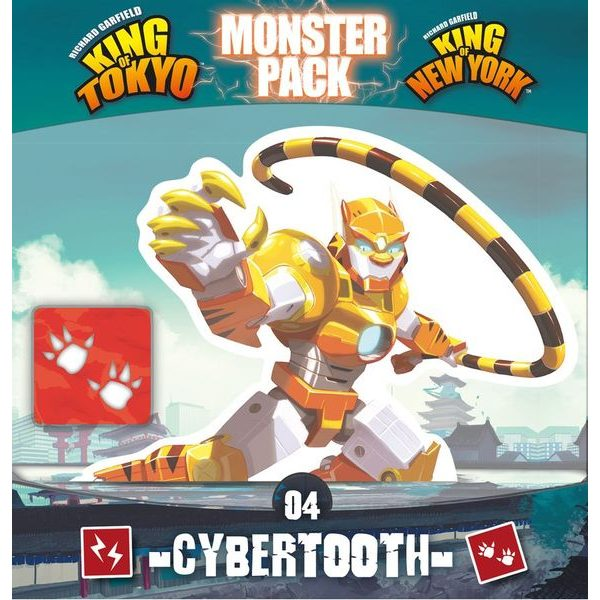 King of Tokyo/King of New York - Cybertooth Monster Pack