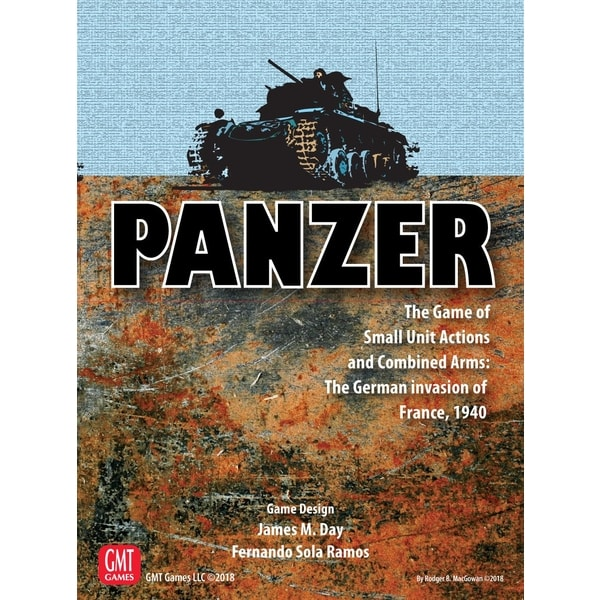 Panzer - The Game of Small Unit Actions and Combined Arms: The German invasion of France, 1940