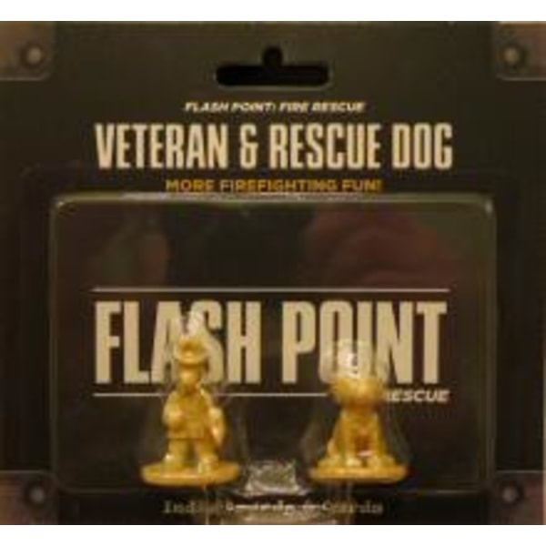 Flash Point (Záchranáři): Veteran and Rescue Dog