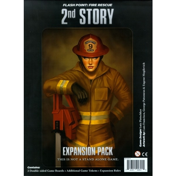 Flash Point: Fire Rescue - 2nd Story: Expansion Pack