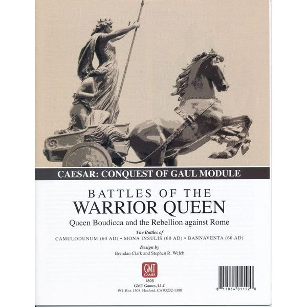Battles of the Warrior Queen (Caesar: Conquest of Gaul Module)
