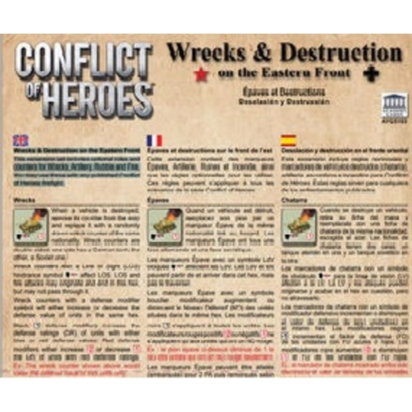Conflict of Heroes: Wrecks & Destruction