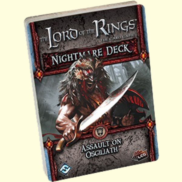 The LOTR: LCG - Assault on Osgiliath Nightmare decks