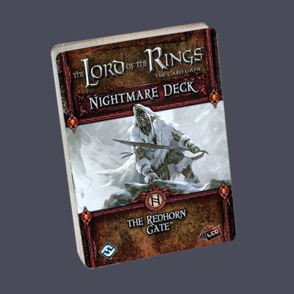 The LOTR: LCG - Redhorn Gate Nightmare Deck
