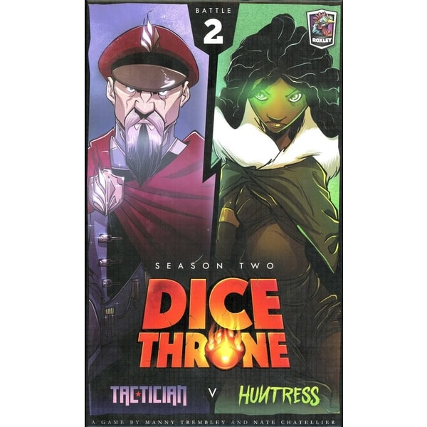 Dice Throne: Tactician vs Huntress