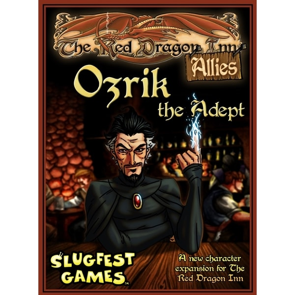 The Red Dragon Inn Allies: Ozrik the Adept