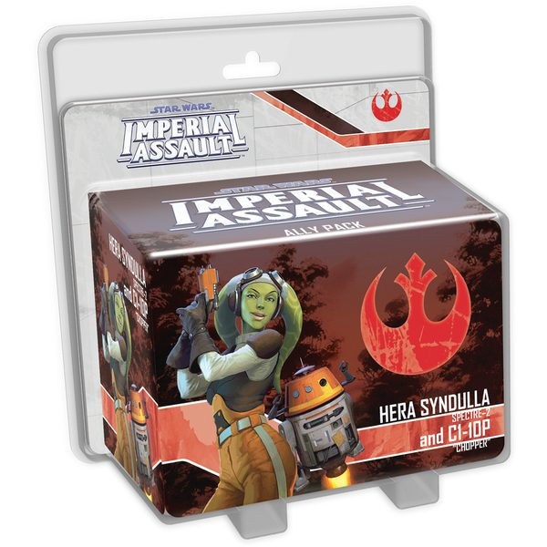 Star Wars: Imperial Assault - Hery Syndulla and C1-10P