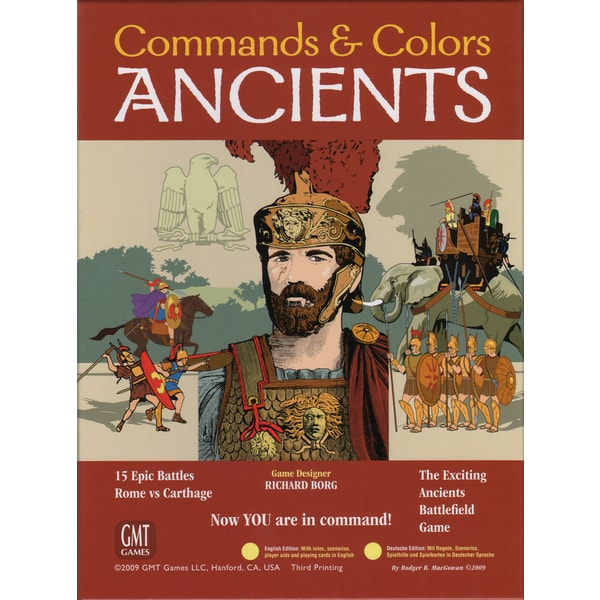 Commands and Colors: Ancients