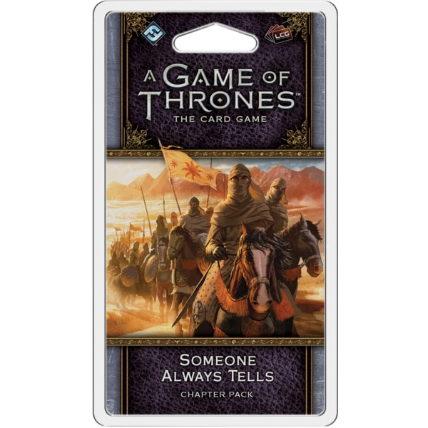 A Game of Thrones - Someone Always Tells