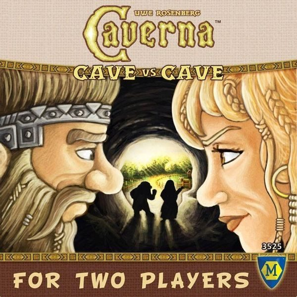 Caverna For Two Players - Cave vs. Cave