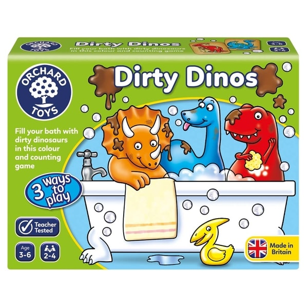 Dinosauři, do vany! (Dirty Dinos)