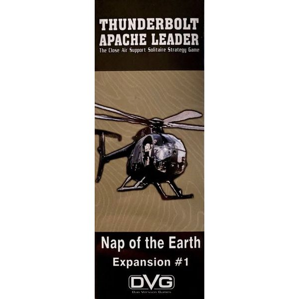 Thunderbolt Apache Leader - Nap of the Earth