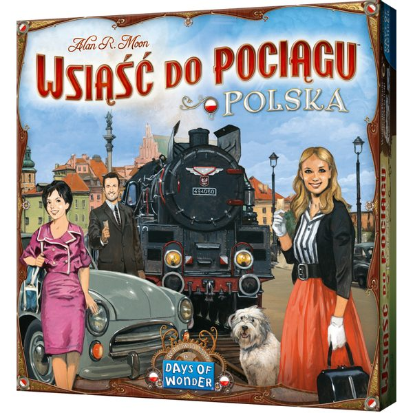 Ticket to Ride: Polsko (EN pravidla)