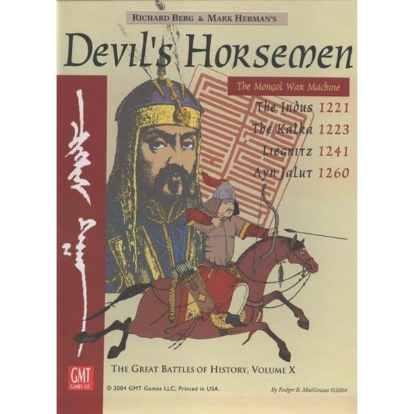 Devil's Horsemen: The Mongol War Machine