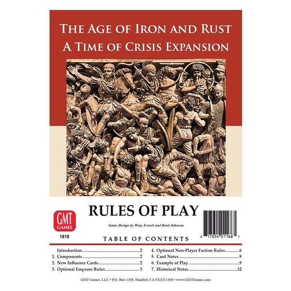 Time of Crisis - The Age of Iron & Rust Expansion